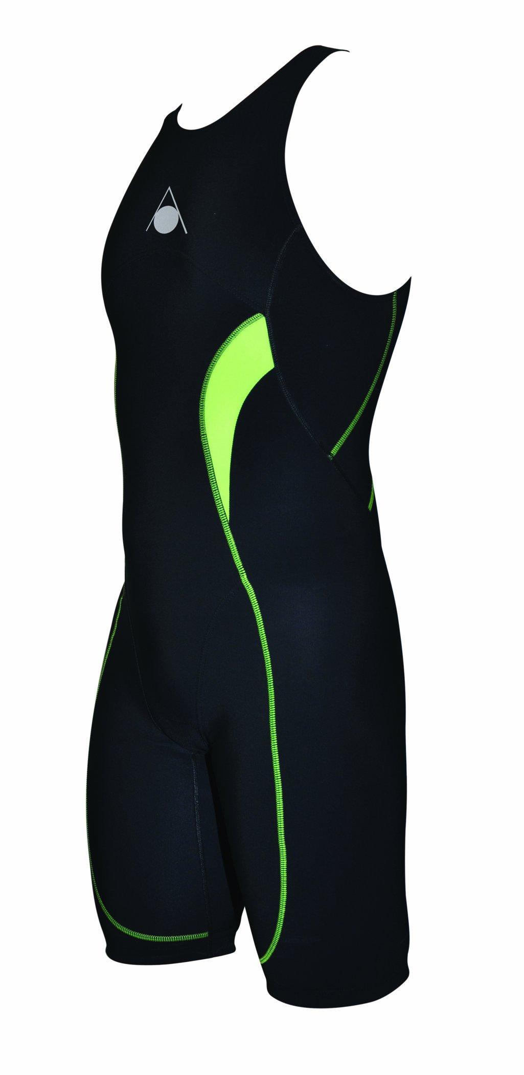 Aqua Sphere Men's Energize Compression Trisuit, Black, 30