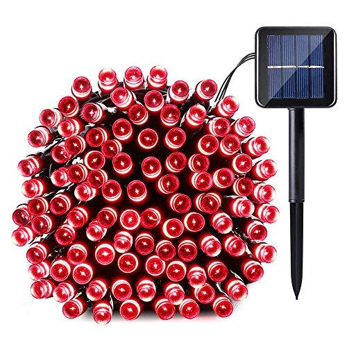 Red Solar Led String Lights - 7