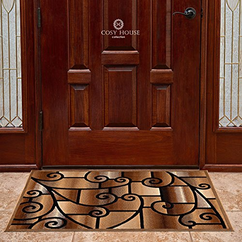 Cosy House Contemporary Door Mat for Indoors & Out | Plush H