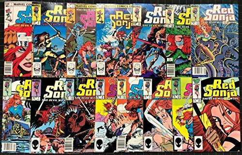 Red Sonja (1983) #1-13 VF plus vol.3#1 & 2 complete set 15 comics total