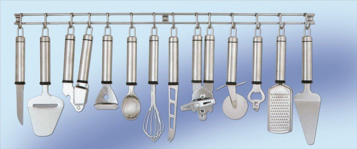 Küchenhelfer-Leiste der Spitzenklasse. Edelstahl.: Amazon.de: Küche ...