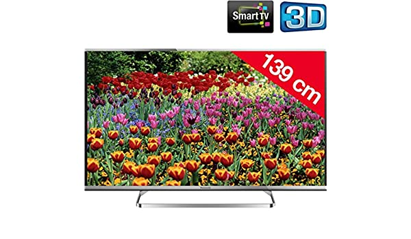Panasonic Viera TX-55AS650E - Televisor LED 3D Smart TV + Cubrecables Stile Line Cover Double + Soporte Mural Stile S800: Amazon.es: Electrónica