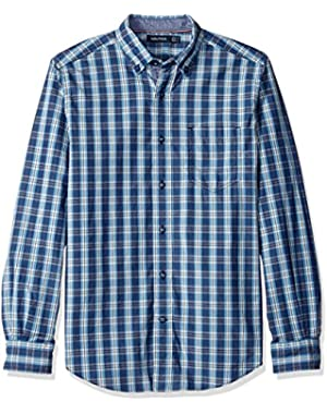 Men's Classic Fit Drift Plaid Shirt