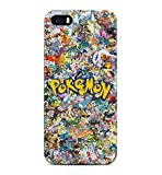 All Pokemons Logo Collage Kanto Pokemon Hard Plastic Snap-On Case Cover For iPhone 5 / iPhone 5s / iPhone SE