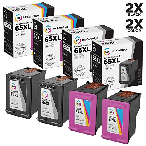 LD Remanufactured Ink Cartridge Replacement for HP 65XL