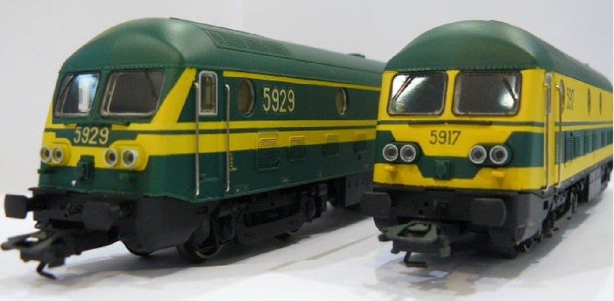 MÄRKLIN 37275 Lok Set Type 59 SNCB