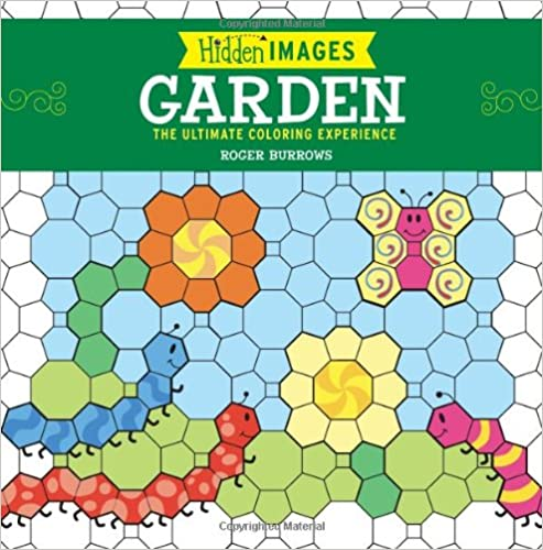 on line book Hidden Images: Garden: The Ultimate Coloring Experience