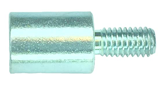 Lyn-Tron Aluminum 10-32 Screw Size Female 0.312 OD Pack of 1 10 Length, Clear Iridite