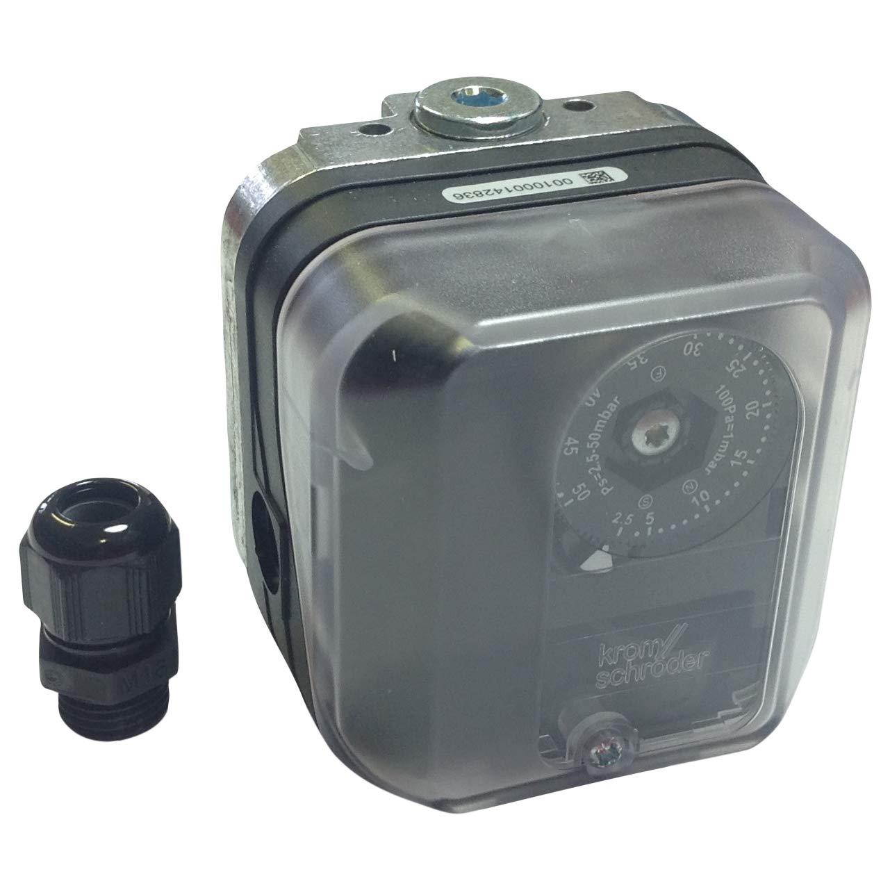 Differential Pressure 84447350//84447352 DG 50U-3 Switch KROMSCHRODER Gas Press DG50U-3 DGU50U-3//84447350 84447350 50MBAR