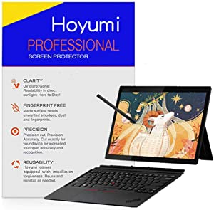 Paper Feel Screen Protector for Thinkpad X1 Tablet 3rd 13 Inch Touch Screen Laptop, Full Screen Protector with Cutout (Paper Like Screen Protector, Transparent)