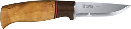 Helle Knives – Harmoni – Triple Laminated Stainless Steel – Traditional Field Knife – Made in Norway