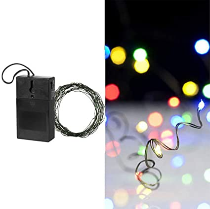 240 20 multicolored led battery operated strand fairy christmas lights green