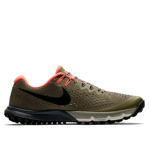 newest 34823 9f3a5 Nike Air Zoom Terra Kiger 4 Scarpe da Trail Running Uomo, Verde (Medium  Olive