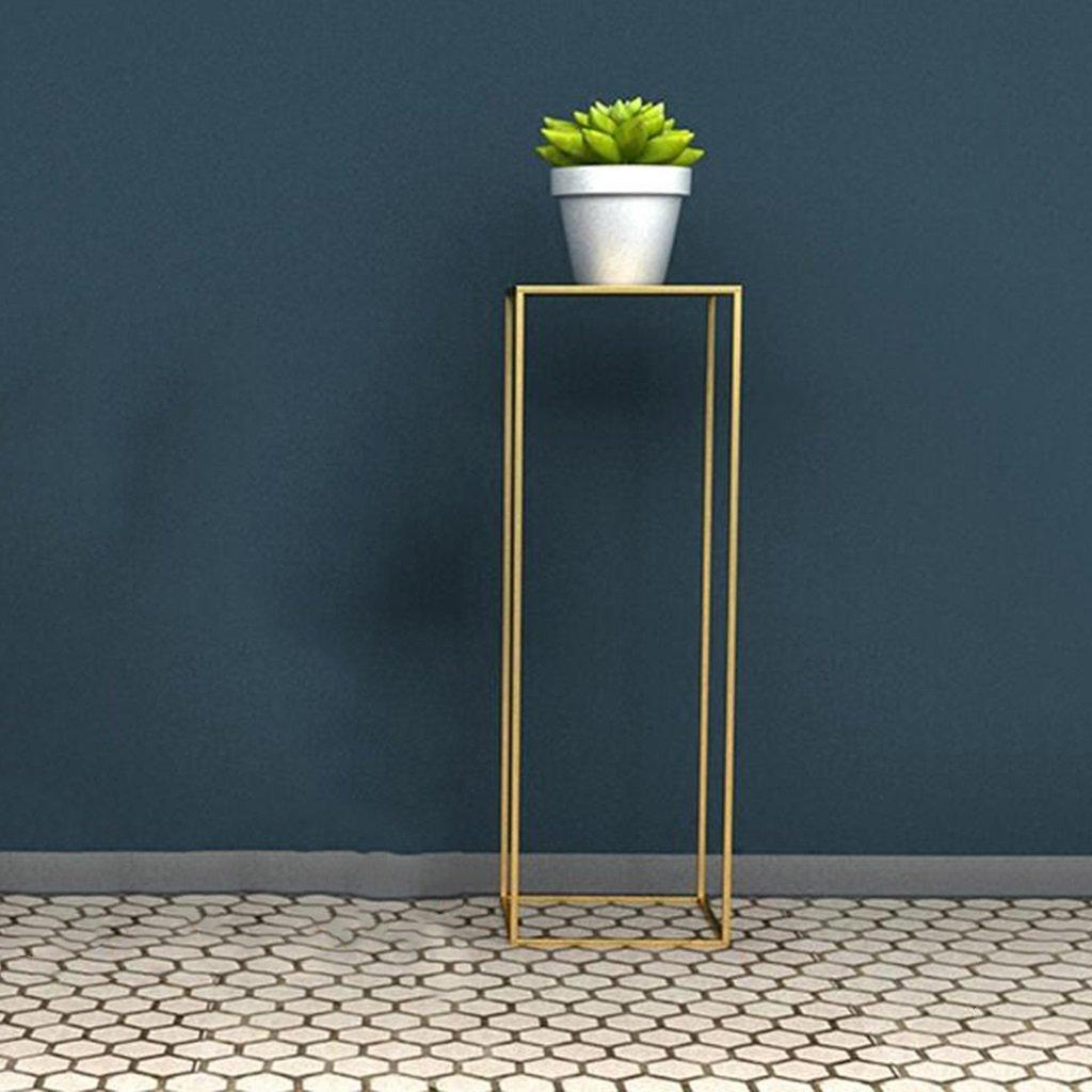 Holz Blumenregal ---- Weiß   Schwarz   Gold Gold Gold Moderner Minimalismus Eisen Platz Sofa Eingang Blumenständer Stand-Stehen Metall Hoher Fuß Regal Ausstellungsstand 30  30  30 Cm   30  30  60 Cm   30  30  90 Cm --- Bitte beachten Sie die  aa926b