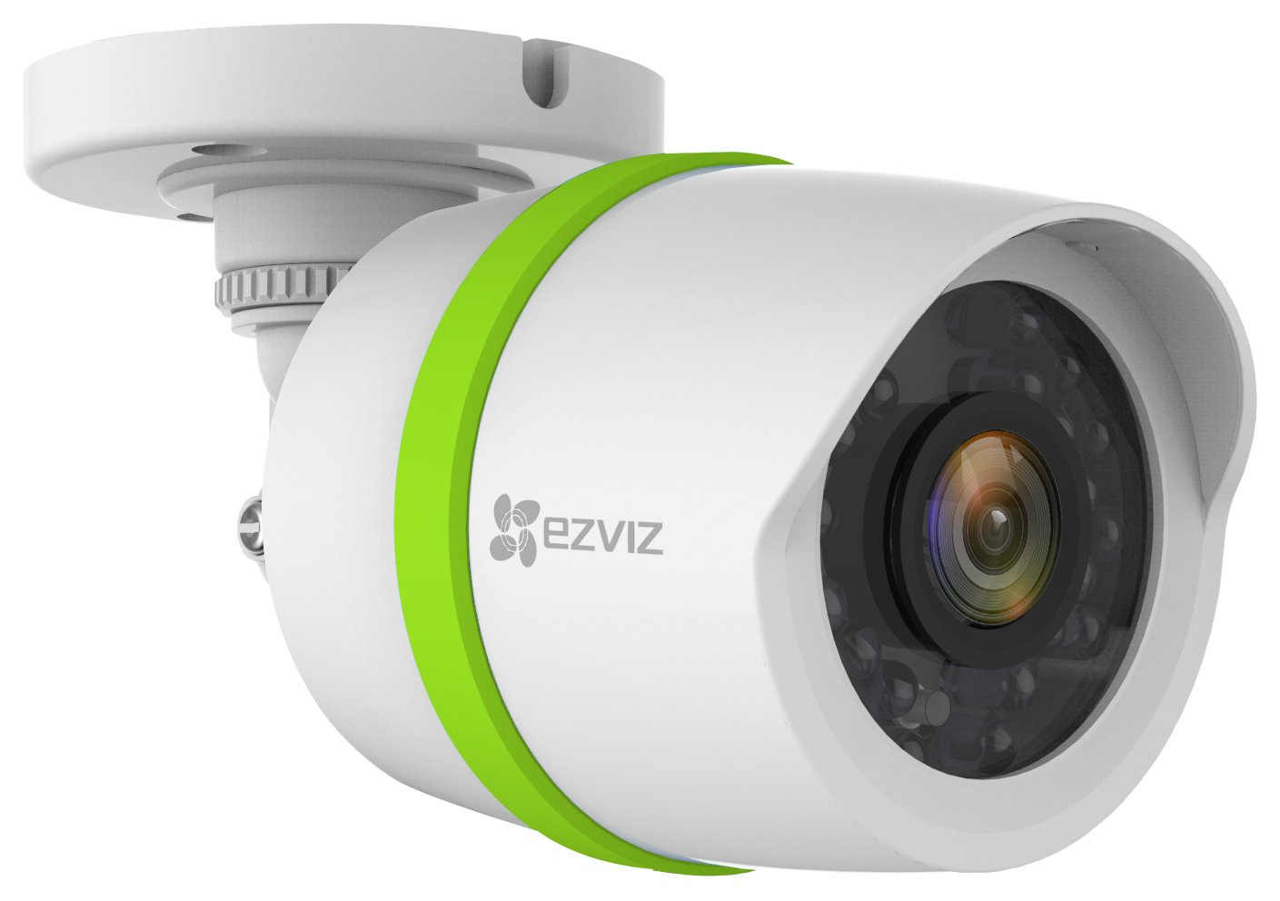 EZVIZ TRIPLE HD 3MP Outdoor Video Security Add-on Bullet Camera, Weatherproof, 100ft Night Vision, Customizable Motion Detection, Included 60ft BNC Cable