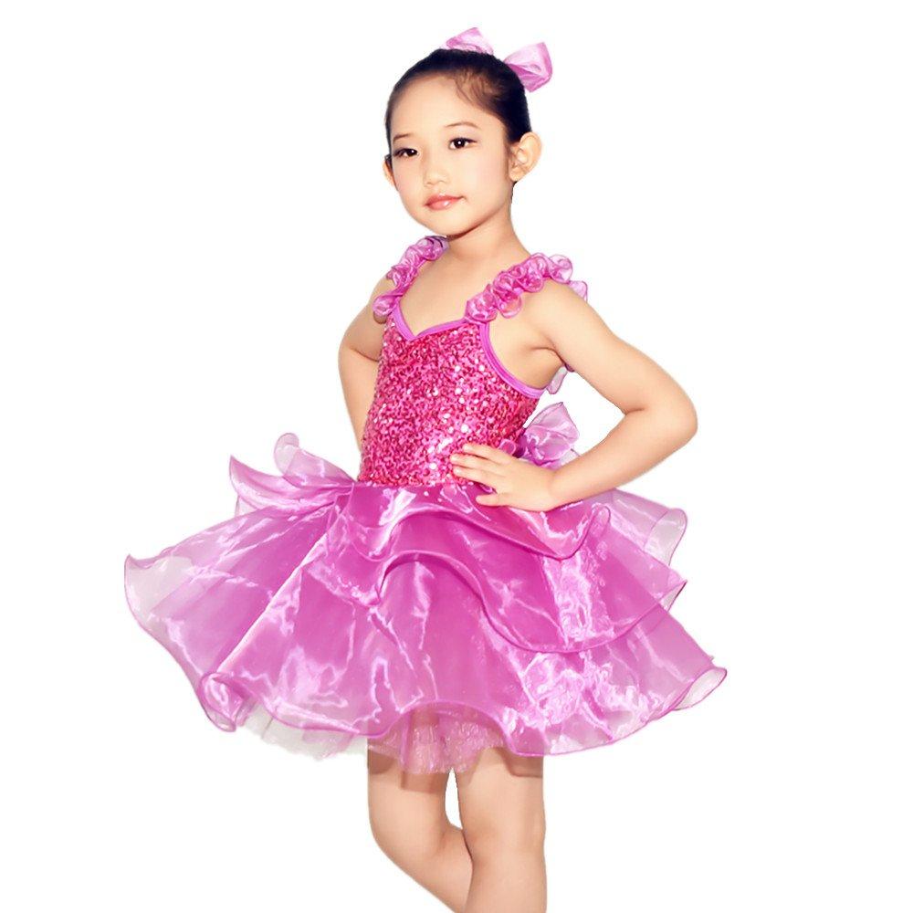 midee lentejuelas de las niñas Cute Tutu Danza B0186JBL3G Cute ...