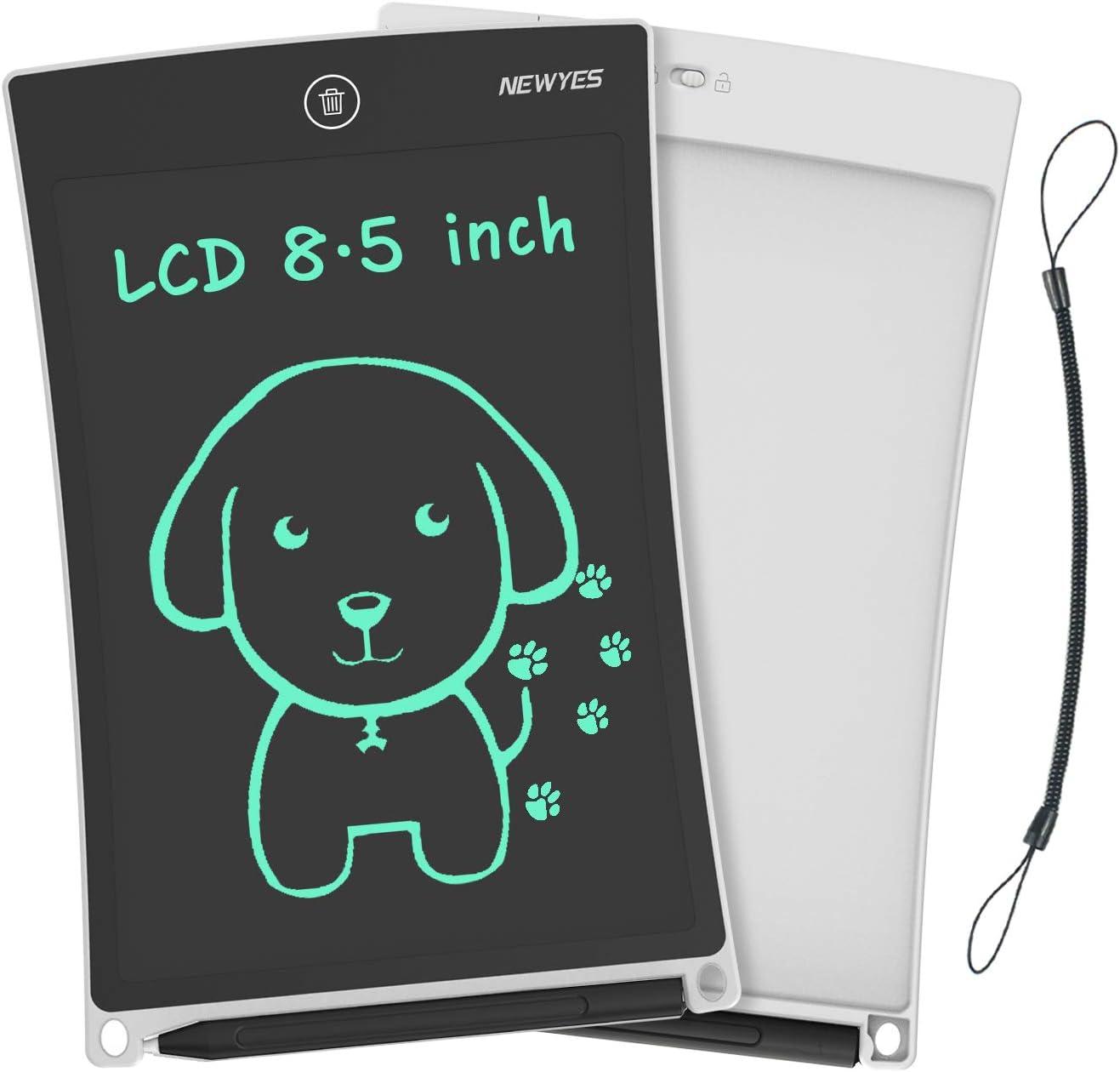 NEWYES NYWT850 Tavoletta Grafica LCD Scrittura, 8,5 Pollici di Lunghezza