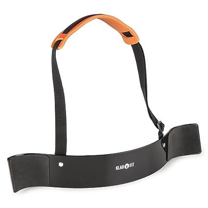 Klarfit BiTi Blaster muñequera bíceps tríceps Isolator Blaster Bomber (Sujeción ejercicios curl, cordón nylon