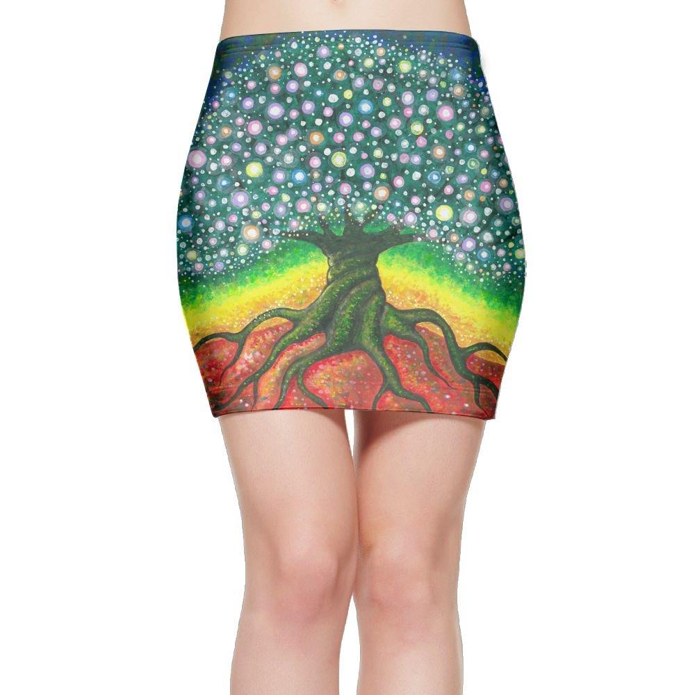 Sports Gym Girl Ultra Skirt - Tree of Life Fine Art Print