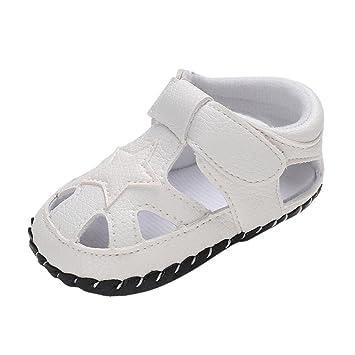 Zapatos Bebe niño primeros pasos , ❤ Amlaiworld Sandalias de bebé niño Estrellas Cuna Zapatos