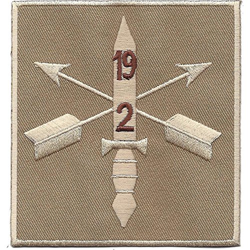 2nd Battalion 19th Special Force Group Helmet Desert Patch