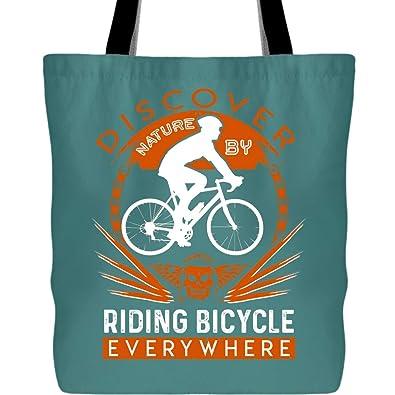 Amazon.com: Bolsas de bicicleta de equitación, con asas ...