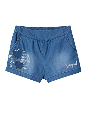 Desigual Girl Short Trousers (Denim_buendia), Pantalones ...