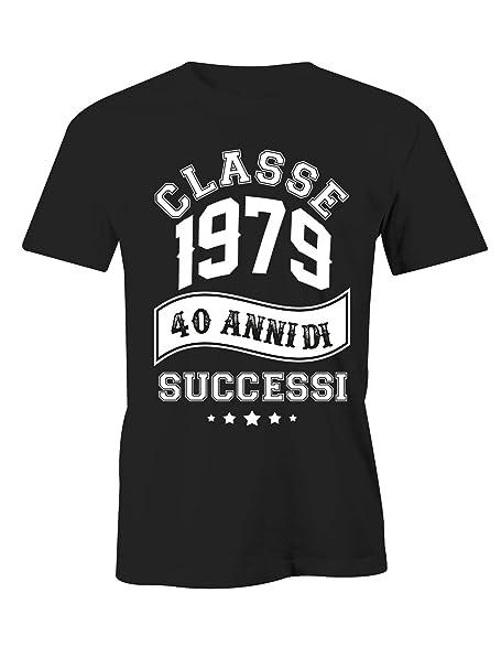 Puzzletee - Camiseta de cumpleaños 1979 40 años de éxitos ...
