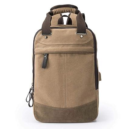 53630d3fd Men's Backpack Business Bag Leisure Bag School Bag Laptop Bag Travel Bag, A  Variety of