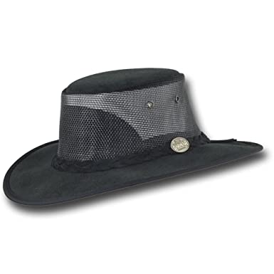 50d13280874 Barmah Hats Foldaway Cattle Suede Cooler Leather Hat - Item 1064 at ...