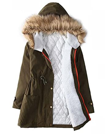 Fashion Women Warm Winter Coat Thick Parka Overcoat Long Jacket Outwear Clothes