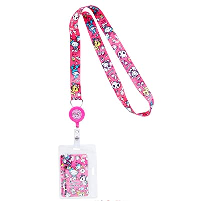 ef95e6d29 Image Unavailable. Image not available for. Color: Tokidoki x Hello Kitty  Lanyard Key/Badge Reel