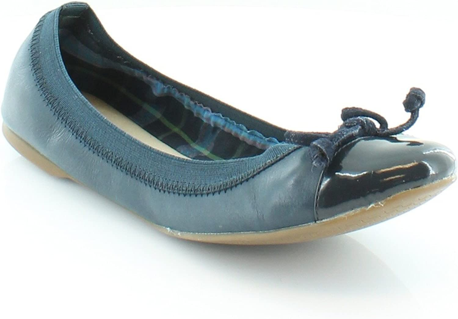 Leather Flats Navy 7.5 M