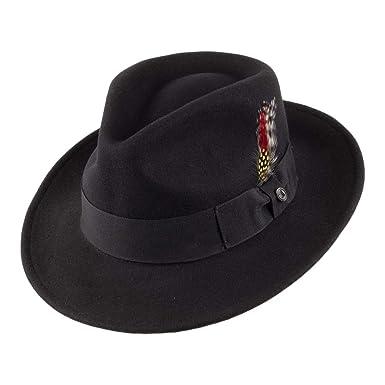 Jaxon Crushable Wool Felt Ford Fedora Hat (XX-Large 692c4642b6f
