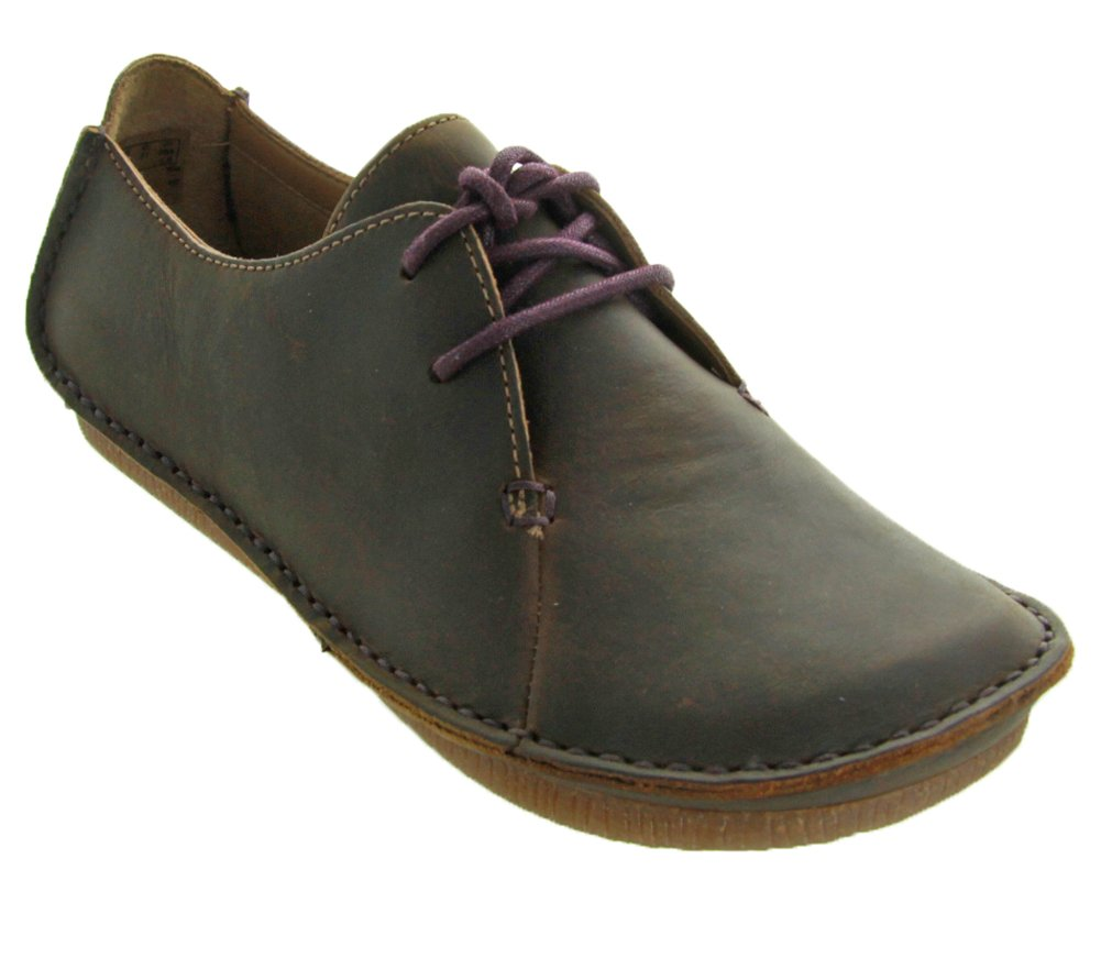 Clarks Women's Janey Mae Flat, Beeswax, 11 M US