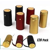 Cápsulas termorretráctiles de PVC – 120 unidades