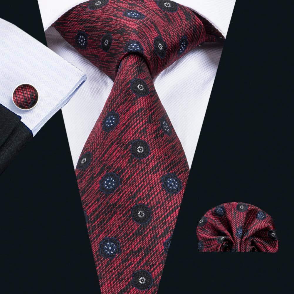 WOXHY Corbata de los Hombres Fa-1674 Corbata Tejida Jacquard de ...
