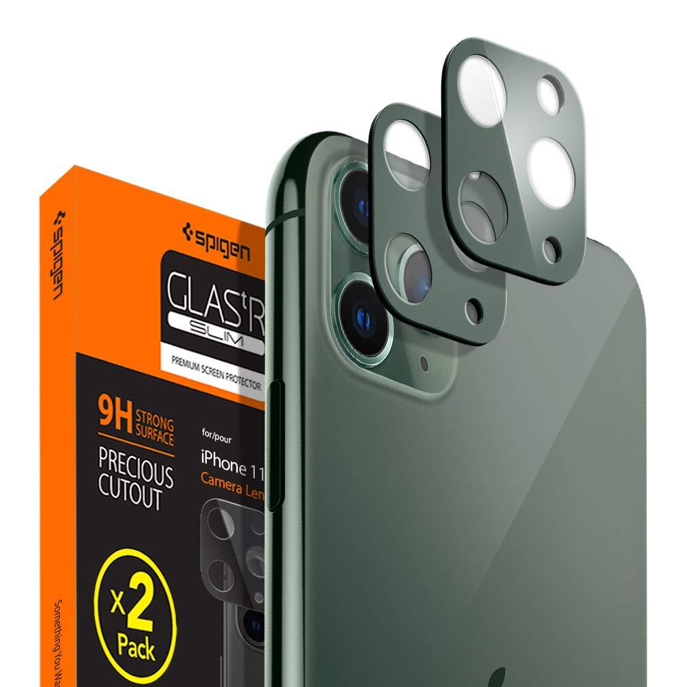 Protector De Lentes Para iPhone 11 Pro/pro Max Spigen, verde