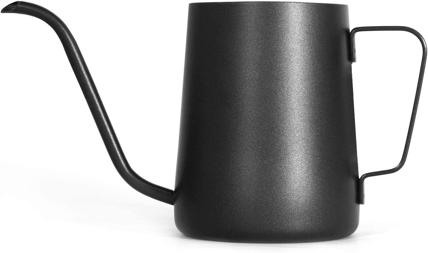 Blesiya Long Narrow Spout Coffee Pot Stainless Steel Pour Over Drip Kettle