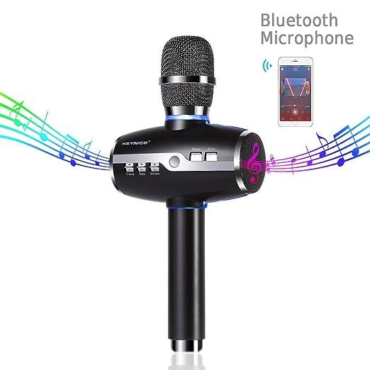 35 opinioni per Keynice Senza Fili Wireless Portatili Doppie Microfono, Stereo 3D Suono