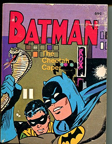 Batman The Cheetah Caper #5771 1975-Whitman-Big Little (Little Caper)