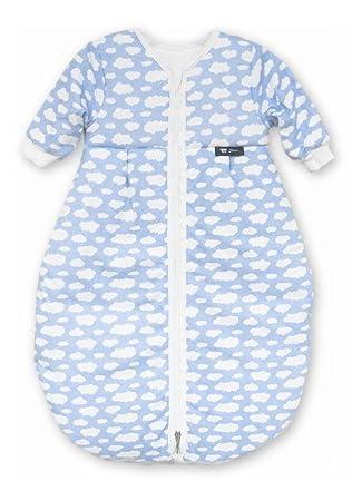attraktive Mode klassische Stile neu billig Alvi Kugelschlafsack Mäxchen Thermo - Wolke blau mit Arm Gr. 90cm