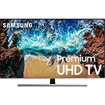 Samsung UN65NU8000 / UN65NU800D Flat 65 4K UHD 8 Series Smart LED TV (Renewed)