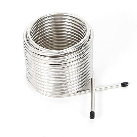 Amazon.com: Tubo de bobina de acero inoxidable para ...