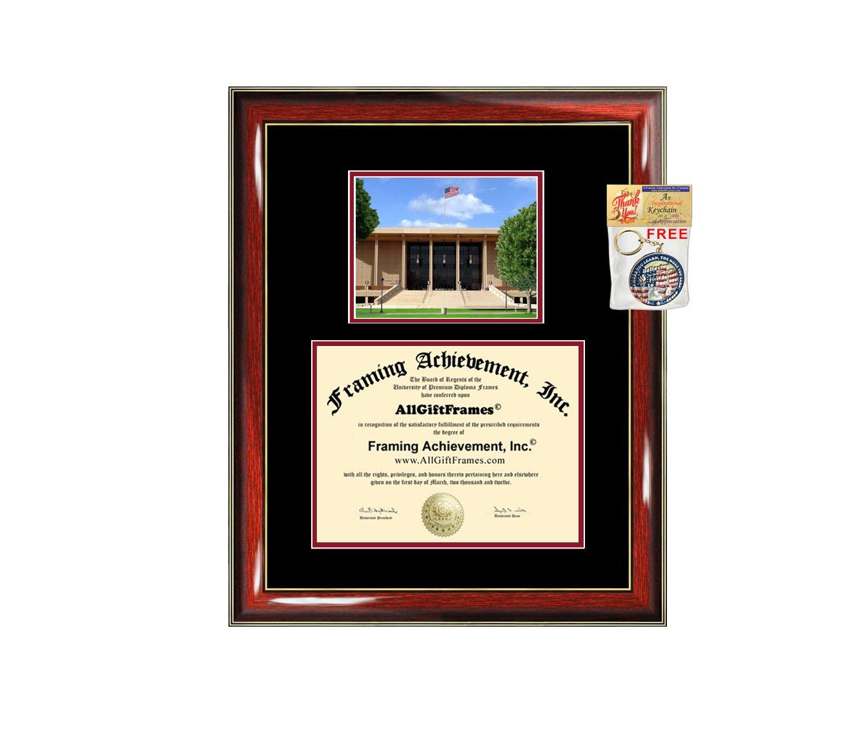 California State University Northridge Diploma Frame CSUN Graduation Degree Frame - Matted College Photo Graduation Certificate Plaque Framing Graduate Gift Collegiate Holder