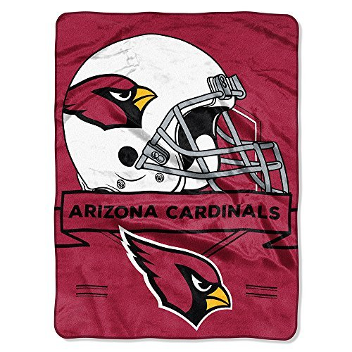 Bed Cardinals Arizona Nfl (Northwest Arizona Cardinals NFL Prestige Series Royal Plush Raschel Blanket)
