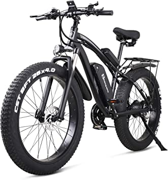 Shengmilo MX02S 48V 1000W Bicicleta Eléctrica Bicicleta de Montaña ...