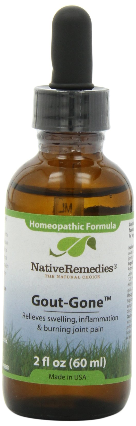 Native Remedies Gout-Gone, 60 ml Bottle