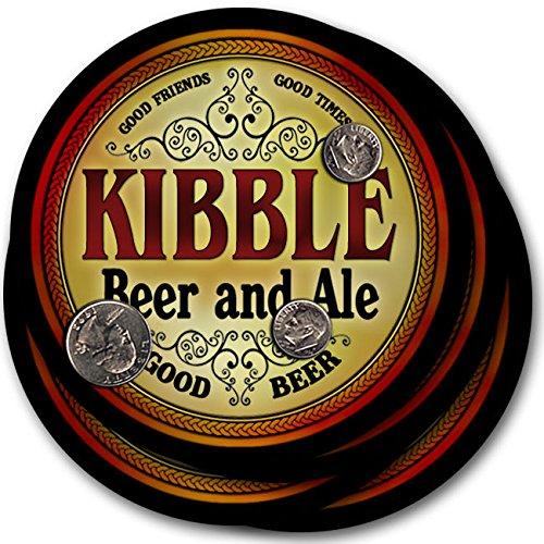 Kibbleビール& Ale – 4パックドリンクコースター   B003QXV89A