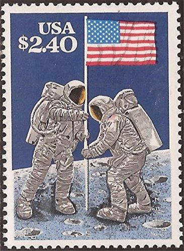 US Stamp - 1989 $2.40 Moon Landing - Priority Stamp - Scott #2419